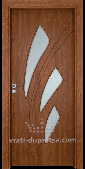 Стъклена интериорна врата Гама 202