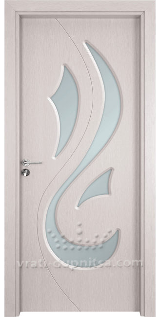 Стъклена интериорна врата Гама 203