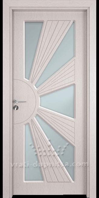 Стъклена интериорна врата Гама 204