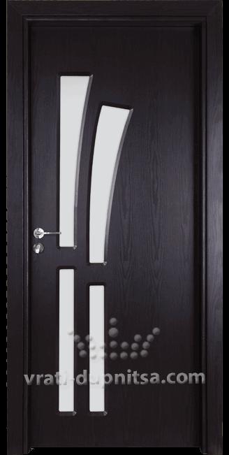 Стъклена интериорна врата Гама 205
