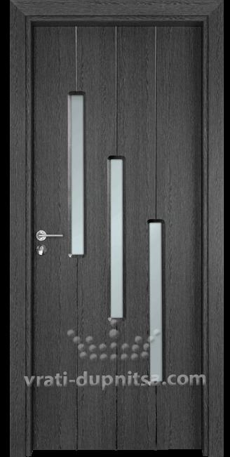 Стъклена интериорна врата Гама 206