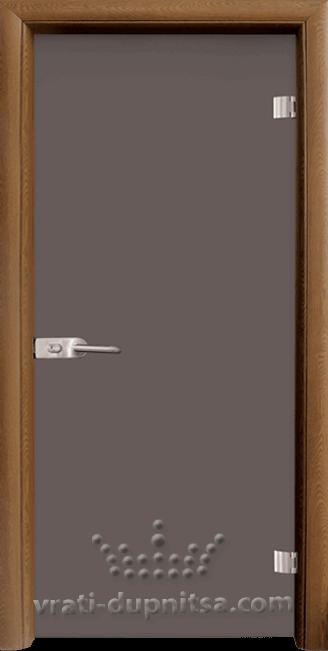Стъклена интериорна врата модел Basic G 10