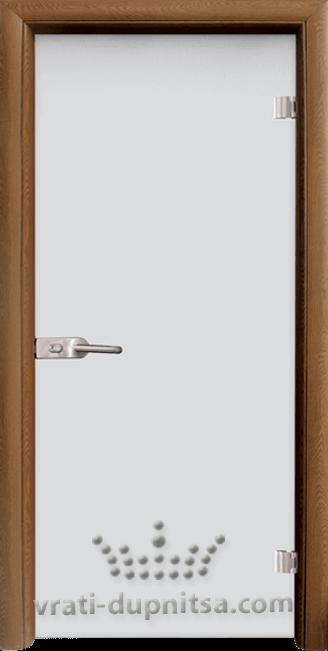 Стъклена интериорна врата модел Matt G 11