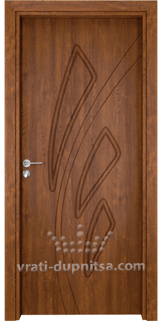 Интериорна врата Гама P202 Златен Дъб