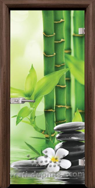 Стъклена интериорна врата модел Print G 13-9
