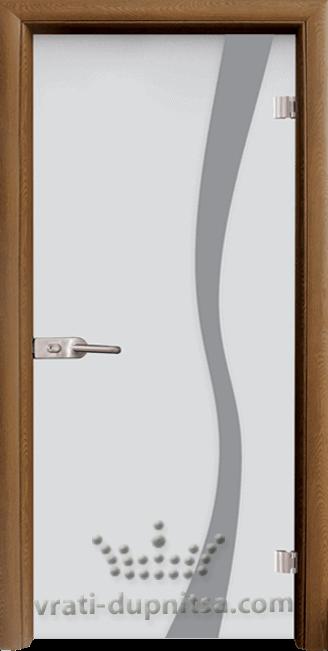 Стъклена интериорна врата модел Sand G 14-1