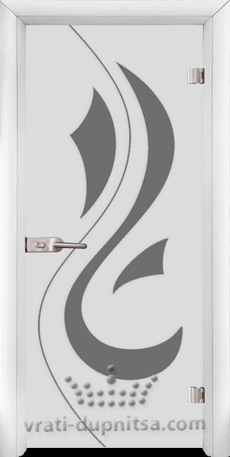Стъклена интериорна врата модел Sand G 14-10