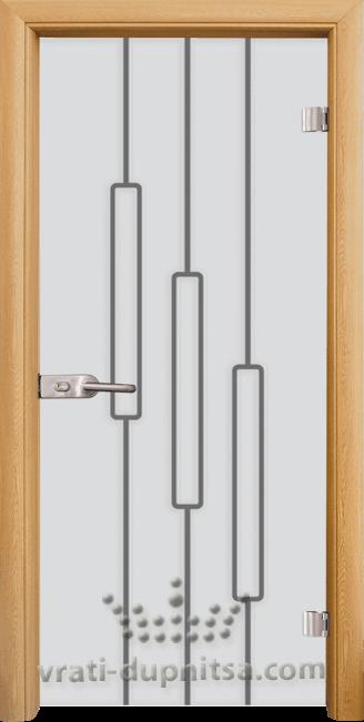 Стъклена интериорна врата модел Sand G 14-11
