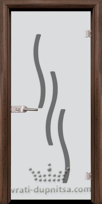 Стъклена интериорна врата модел Sand G 14-2