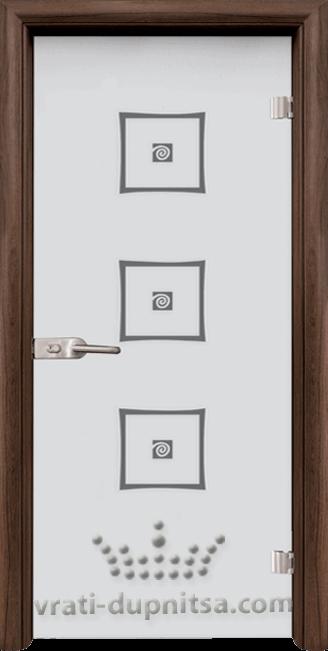 Стъклена интериорна врата модел Sand G 14-3