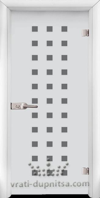 Стъклена интериорна врата модел Sand G 14-4