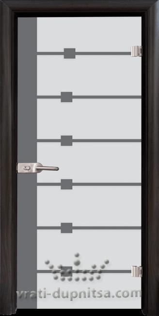 Стъклена интериорна врата модел Sand G 14-5