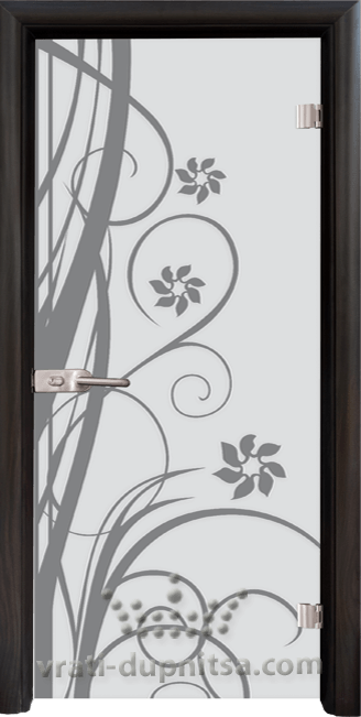 Стъклена интериорна врата модел Sand G 14-7