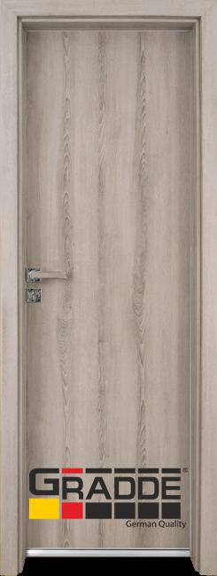 Алуминиева врата за баня – Граде цвят Ясен Вералинга