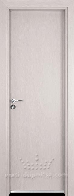Алуминиева врата за баня – Гама, цвят Перла