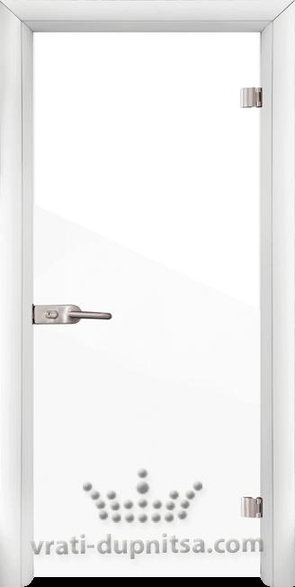 Стъклена интериорна врата модел Folio G 15-1