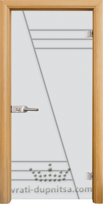 Стъклена интериорна врата модел Sand G 13-4