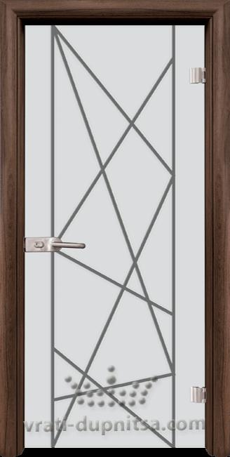 Стъклена интериорна врата модел Sand G 13-5