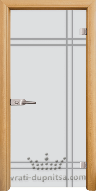 Стъклена интериорна врата модел Sand G 13-8