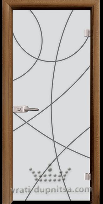 Стъклена интериорна врата модел Sand G 14-12