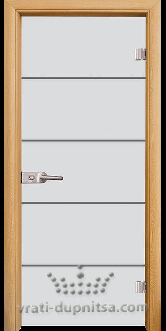 Стъклена интериорна врата модел Sand G 14-13