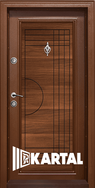 Блиндирана входна врата, модел T305 Златен дъб